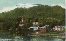 UK Dunkeld - River Tay Front 1910 postcard