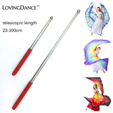 Belly Dance Accessory ISIS Wings Butterfly Telescopic Stick Free Shipping