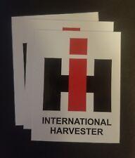 3 International Harvester sticker decals