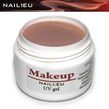 MakeUp Gel 1-Phasen-Gel Buildergel Aufbaugel Camouflage NAIL1.EU 7ml Nagelgel