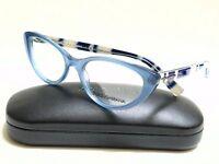 New Authentic DOLCE & GABBANA DG3162P 2715 Opal Azure 52/18/140 Rx Eyeglasses