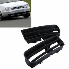 Car Front Lower Bumper Fog Light Lamp Grilles Vent Cover for VW Golf MK4 98-06
