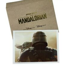 Disney Star Wars The Mandalorian The Child Baby Yoda Lithograph Limited Edition