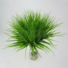 Nice Artificial Fake Plastic Green Grass Plant Flowers Office Home Garden Decor