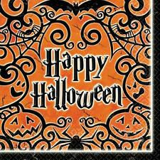 Gothic Greetings Haunted House Halloween Carnival Party Paper Beverage Napkins