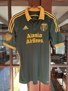 2014 2015 Portland Timbers Soccer Jersey Third Kit Shirt Top Adidas MLS USA NASL