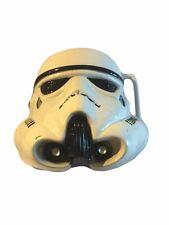 Star Wars STORM TROOPER 3D Metal Enamel BELT BUCKLE