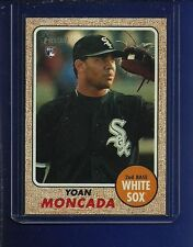 SCARCE 2017 TOPPS HERITAGE 117 ACTION SP Yoan MONCADA WHITE SOX RC MINT !!!