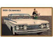 1959 Oldsmobile Auto Refrigerator / Tool Box  Magnet