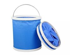 11L Collapsible Bucket Multifunctional Folding Bucket for Hiking Fishing Travel