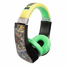 Mutant Ninja Turtles 30365 Kid Safe Over the Ear Headphone w/ Volume Limiter