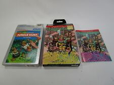 Pair of vintage empty boxes Atari 5200 Congo Bongo Jungle Hunt