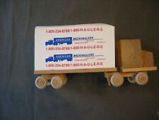 Vintage Office Supplies Note Pad Mounted On Tractor Trailer