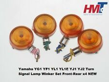 Yamaha YG1 YF1 YL1 YL1E YJ1 YJ2 Turn Signal Lamp Winker Set Front-Rear x4 NEW