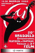JACOBS Mini-calendrier 20°Festival Internat. Film Fantastique+S-F Bruxelles 2002