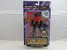 Wetworks ASSASSIN ONE Clear Red Ultra Action Figure NEW 1996 McFarlane Toys