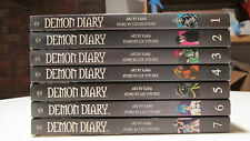 Demon Diary Manga Complete Set Volumes 1-7