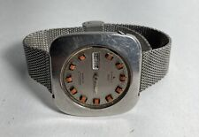 Seiko DX Automatic Mens Watch Day Date 6106-7509 Rare Vintage  Parts Repair