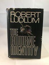 The Bourne Identity - Robert Ludlum - HC DJ 1st Ed - fifth