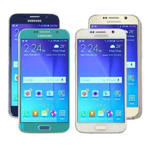 Samsung Galaxy S6 SM-G920 -32GB -AT&T/Verizon/Sprint/GSM Unlocked- Clean IMEI
