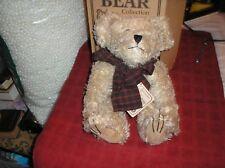 "Boyd Bears Mohair Bear Collection 12"" Fitzgerald Q Bearington w/ Tag & Box"