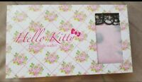 SANRIO HELLO KITTY Pink Quilt Long Wallet HTF