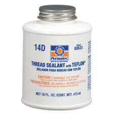 Thread Sealant With PTFE 16 Ounce White 80633