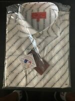 New York Yankees Long-Sleeve Button Shirt  Vintage HEADMASTER XXXL Derek Jeter