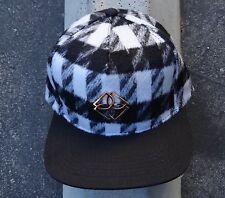New Dope Gray/Black Monogram Mens Snapback Hat One size Fit