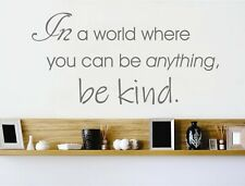 Be kind wall sticker