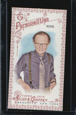 2014 Topps Allen and Ginter Mini Red #81 Larry King #/33 BX 1P