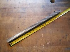 Ty Miles 34 W X 18 L Carbide Slant Tooth Machine Keyway Broach 1203 1324