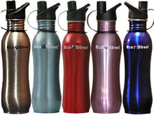 2  (TWO) STAINLESS STEEL WATER  DRINK  BOTTLES 700ml SALE ONE WEEK ONLY