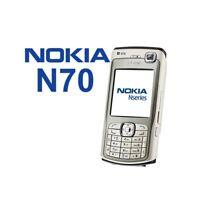 TELEFONO CELLULARE NOKIA N70 SILVER UMTS FOTOCAMERA BLUETOOTH USATO-