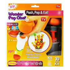 Canape cutter maker fruits légumes shaper wonder pop chef parti décorateur
