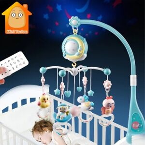 Infant 0-12 months For Newborn Baby Crib Mobiles Rattles Toys Bell Carousel Cots