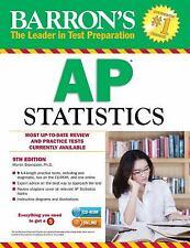 Barron's AP Statistics with CD-ROM, 9th Edition Martin Sternstein Ph.D.