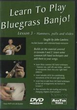 Learn To Play Bluegrass Banjo Lesson 3 Tuition DVD John Lawless