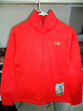 THE NORTH FACE MOMENTUM FLEECE JACKET WOMEN'S SMALL (S) CAYENNE RED SRP $99