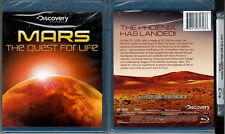 Blu-ray Discovery Channel MARS THE QUEST FOR LIFE Phoenix Lander WS Region A NEW