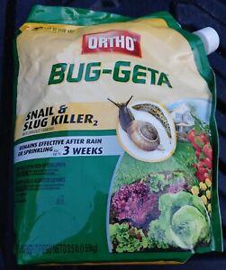 Ortho Bug-Geta Snail and Slug Killer, 3.5lbs. Size, NEW!!!