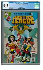 Justice League Unlimited #44 (2008) Wonder Woman Hawkgirl CGC 9.6 EB241