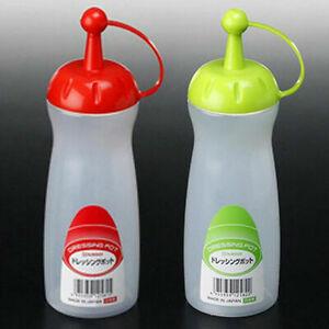 JapanBargain Japanese Squeeze Bottle Ketchup Bottle For Dispense Oil Soy Sauce