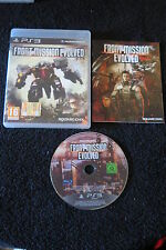 PS3 : FRONT MISSION EVOLVED - Completo, ITA ! Le lotte tra Mech !