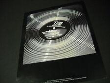 Tina Turner 1985 Promo Display Ad Congratulations On Your Accomplishment. mint