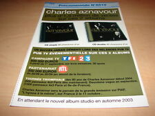 CHARLES AZNAVOUR - 20/40 CHANSONS D'OR!!! !! PLAN MEDIA