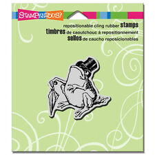 Stampendous Rubber Stamps Cling Sir Toad Stamp