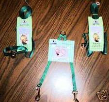 Ferret - 2 Harness / Lead Sets+Tandem Coupler - Green