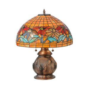 Meyda Lighting 19.5'H Black Eyed Susan Table Lamp - 139609