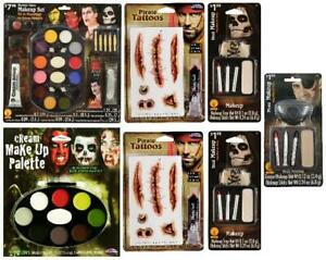 LOT OF 7 - Multi-Brand Halloween Pirate Costume SFX Makeup Kit Bundle SEALED